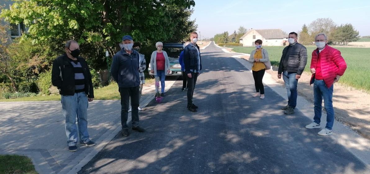 Zdjęcie do Odbiór końcowy drogi w Dziewierzewie